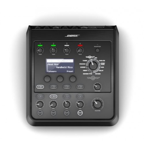 Controlador audio ToneMatch® T4S